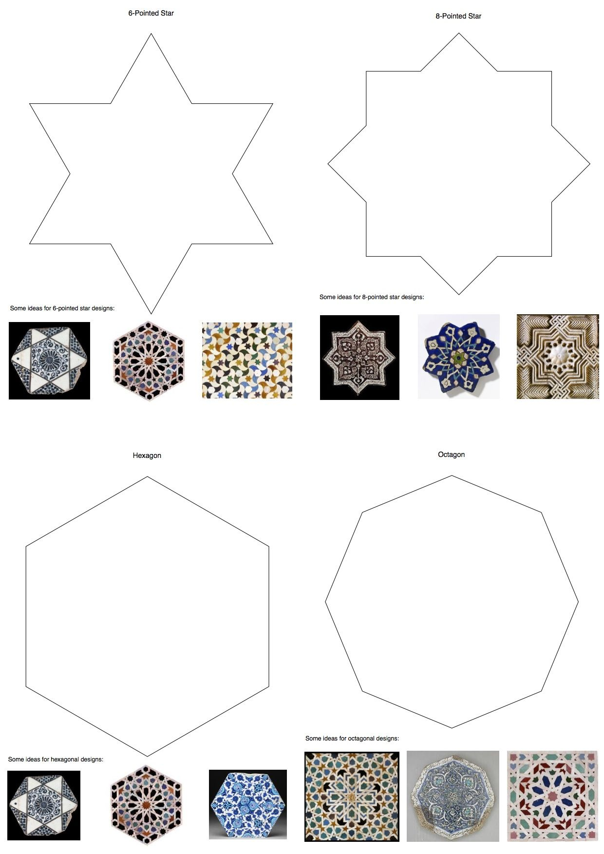 Tessellation Islamic Tile