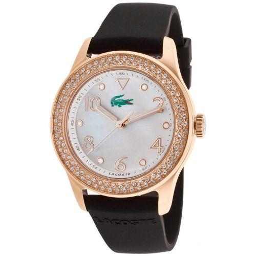 Reloj Lacoste Analógico De Cuarzo Japonés Con Diamantes Establecidos Para  Mujer. d5fef0ac8e8a