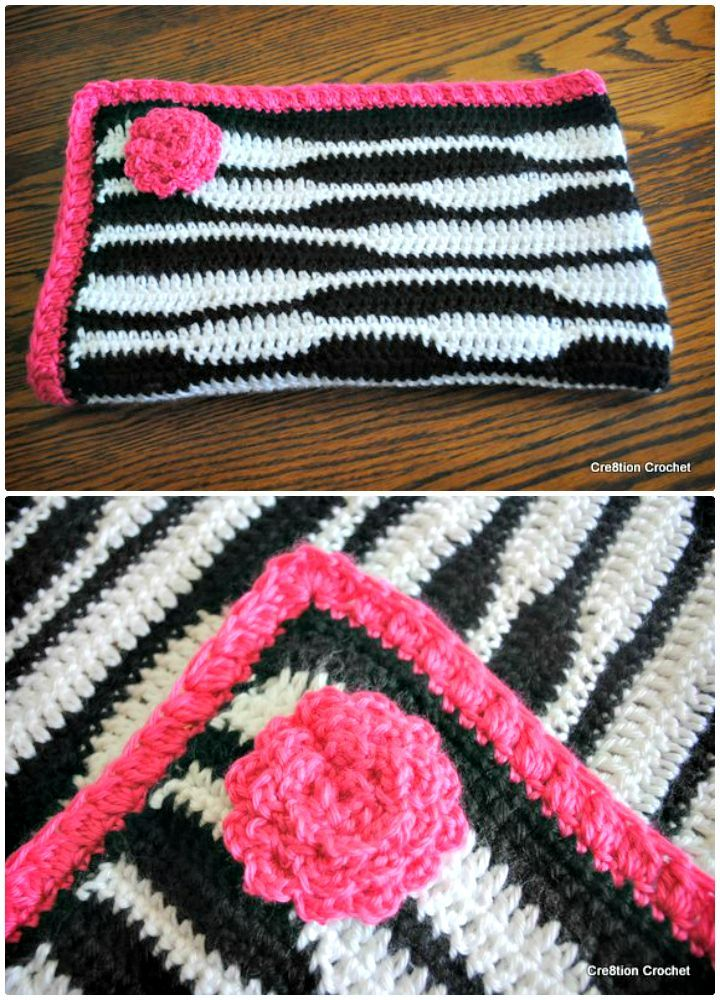 26 Free Crochet Zebra Patterns / Hat, Blanket, Amigurumi | Ideas ...