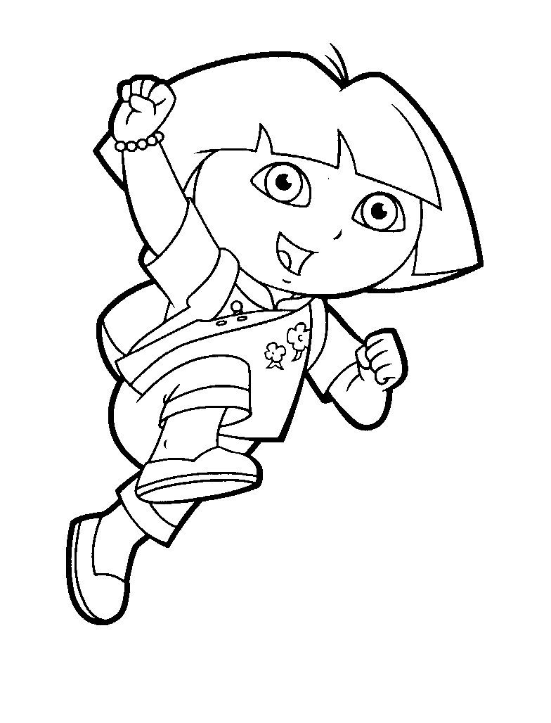 Dora Coloring Pages | Dora Coloring Pages 2 | Coloring Pages To ...