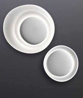 Applique Bahia Mini / LED - 55 x 53 cm Blanc - Foscarini