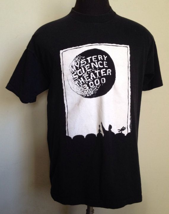 90s Vintage Mystery Science Theater 3000 1990 MST3K by PartyNaked, $75.00