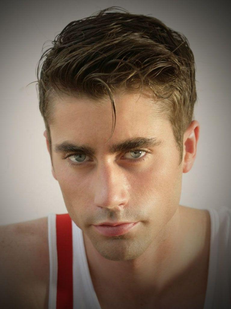 Kurze Frisuren Für Männer Dünne Haare Für Runde Gesichter Und