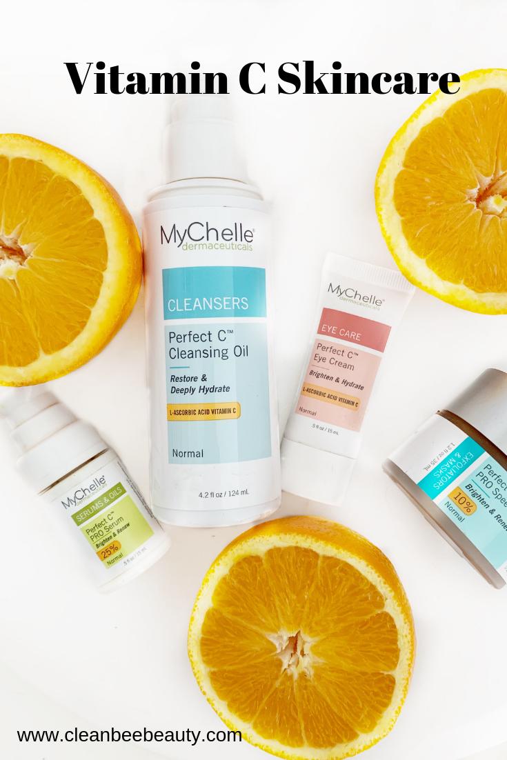 Vitamin C Skincare Mychelle Skin Care Vitamins Clean Skincare