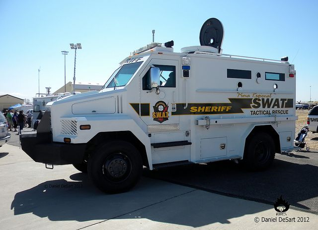 Pima County Sheriff Tactical Rescue Vehicle | Law Enforcement