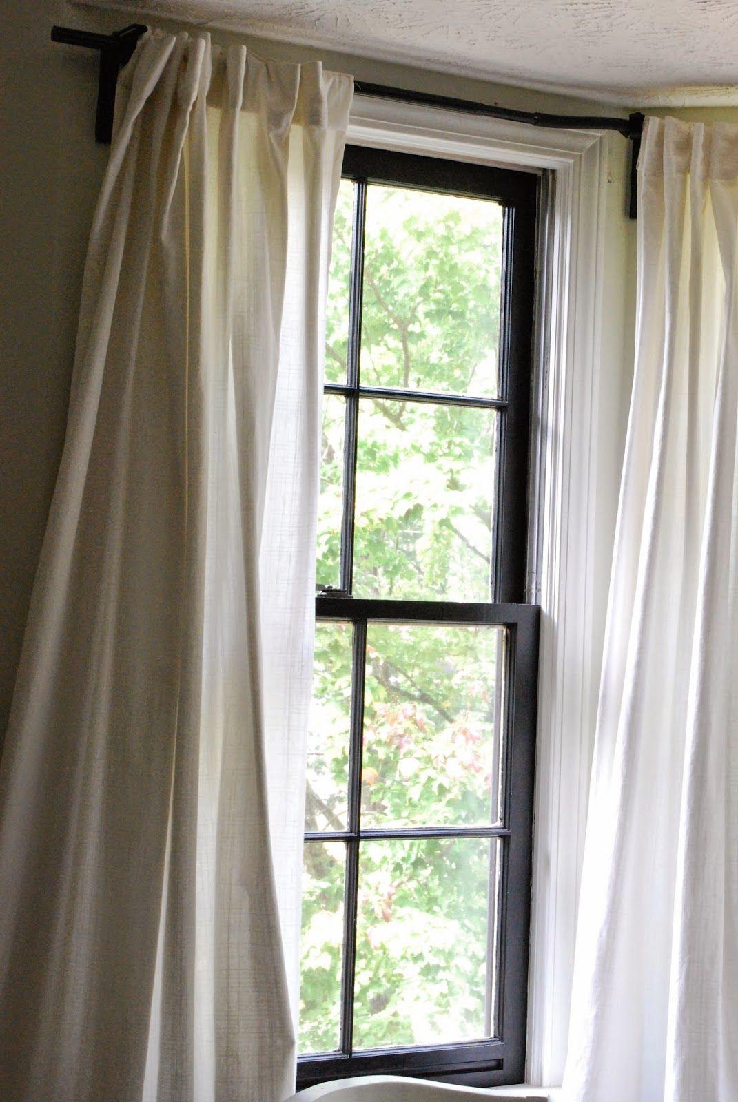 Bay Window Curtain Rod Hogar