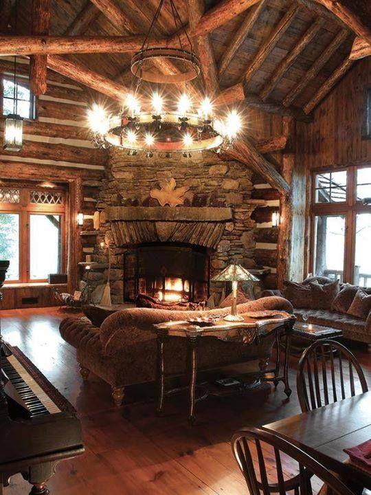 Elegant Mountain Lodge Decorating Ideas
