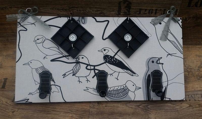 """Schmuckständer & -halter - Garderobe/ Schlüsselbrett/ Schmuckständer """"Vogel"""" - ein Designerstück von My-Sweet-Bambiente bei DaWanda"""