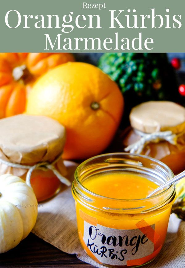 Orangen Kürbis Marmelade ohne Kochen   Marmeladen-Stabmixer-Gewinnspiel. #bratapfeltiramisu