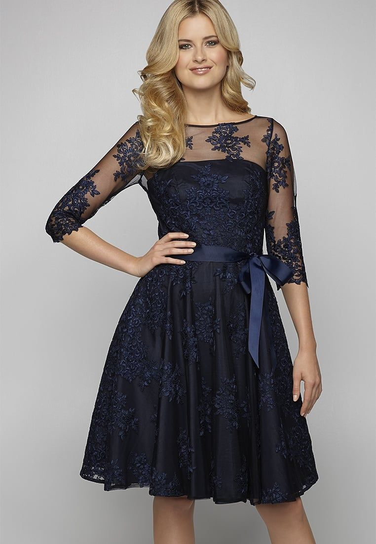 apart cocktailkleid / festliches kleid - dark blue - zalando