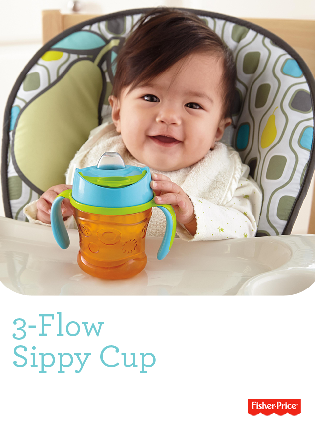Fisher Price 3 Flow Sippy Cup