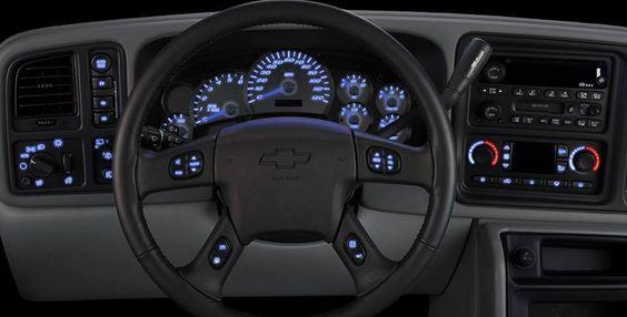 Led dash diy kits for 2003 to 2006 chevy silverado tahoe suburbab jeeps sciox Choice Image