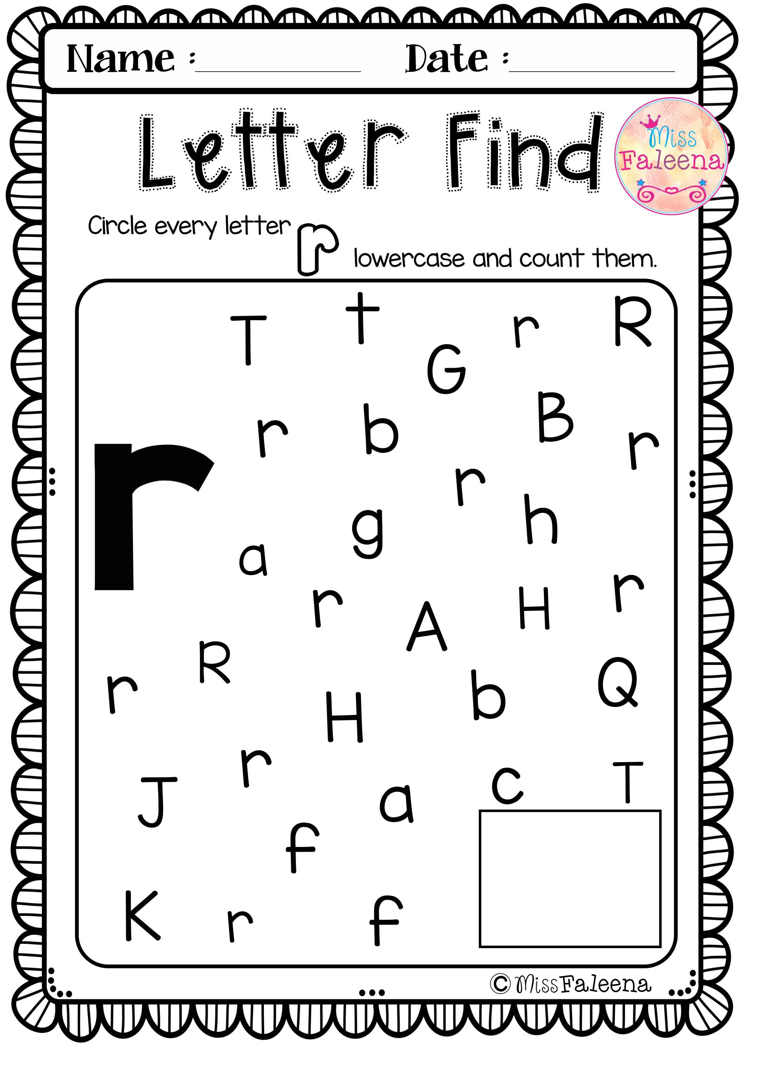 Alphabet Letter Of The Week R Lettering Alphabet Phonics Reading Kindergarten Worksheets