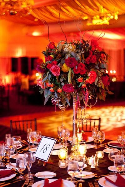 Fall wedding centerpiece ideas on pinterest