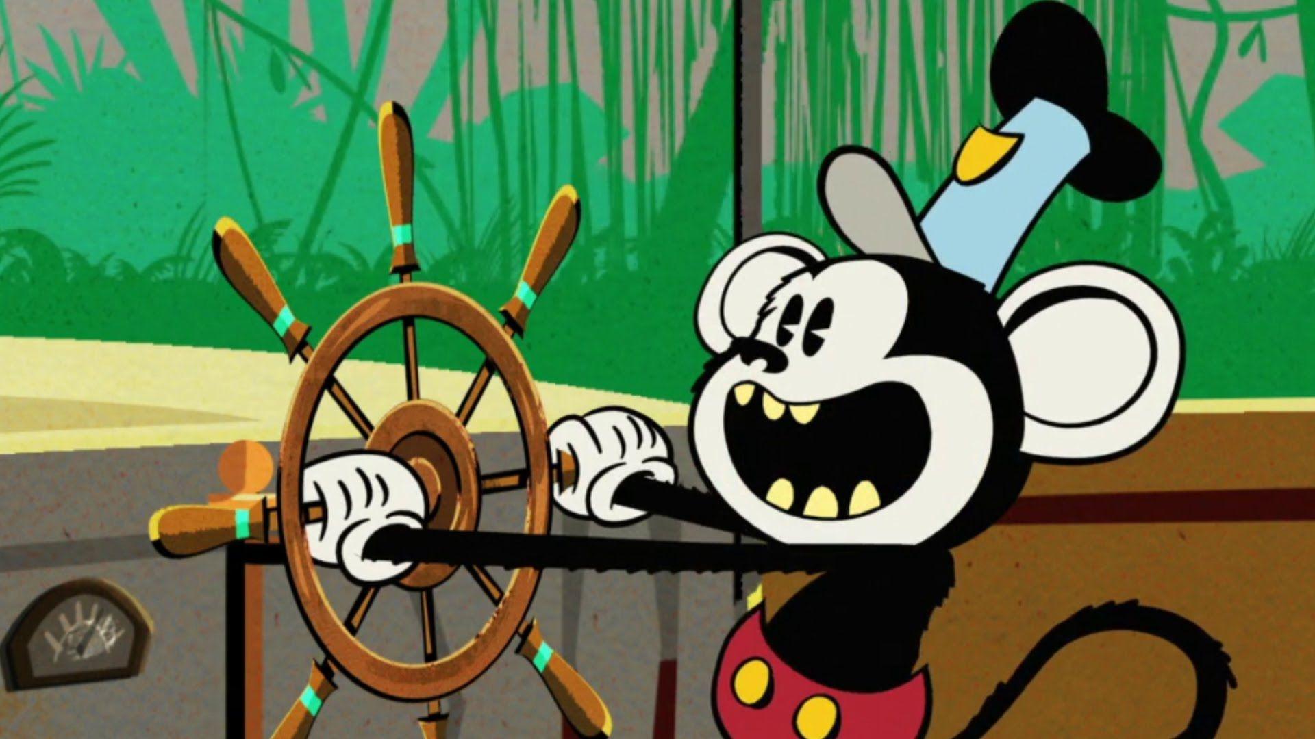Mickey Monkey | A Mickey Mouse Cartoon | Disney Shorts