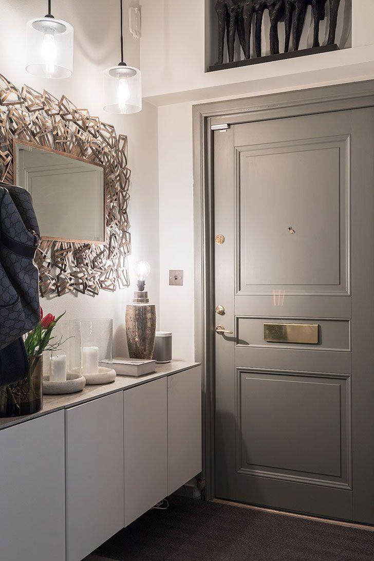 Элегантная черно-белая квартира в Швеции (96 кв. м) | Идеи ...