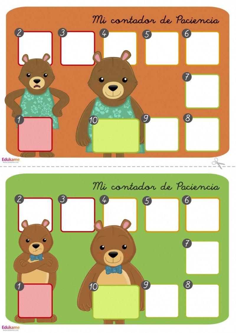 Juego El Juego De La Paciencia Edúkame Inteligencia Emocional Para Niños Juego De Emociones Educacion Emocional Infantil