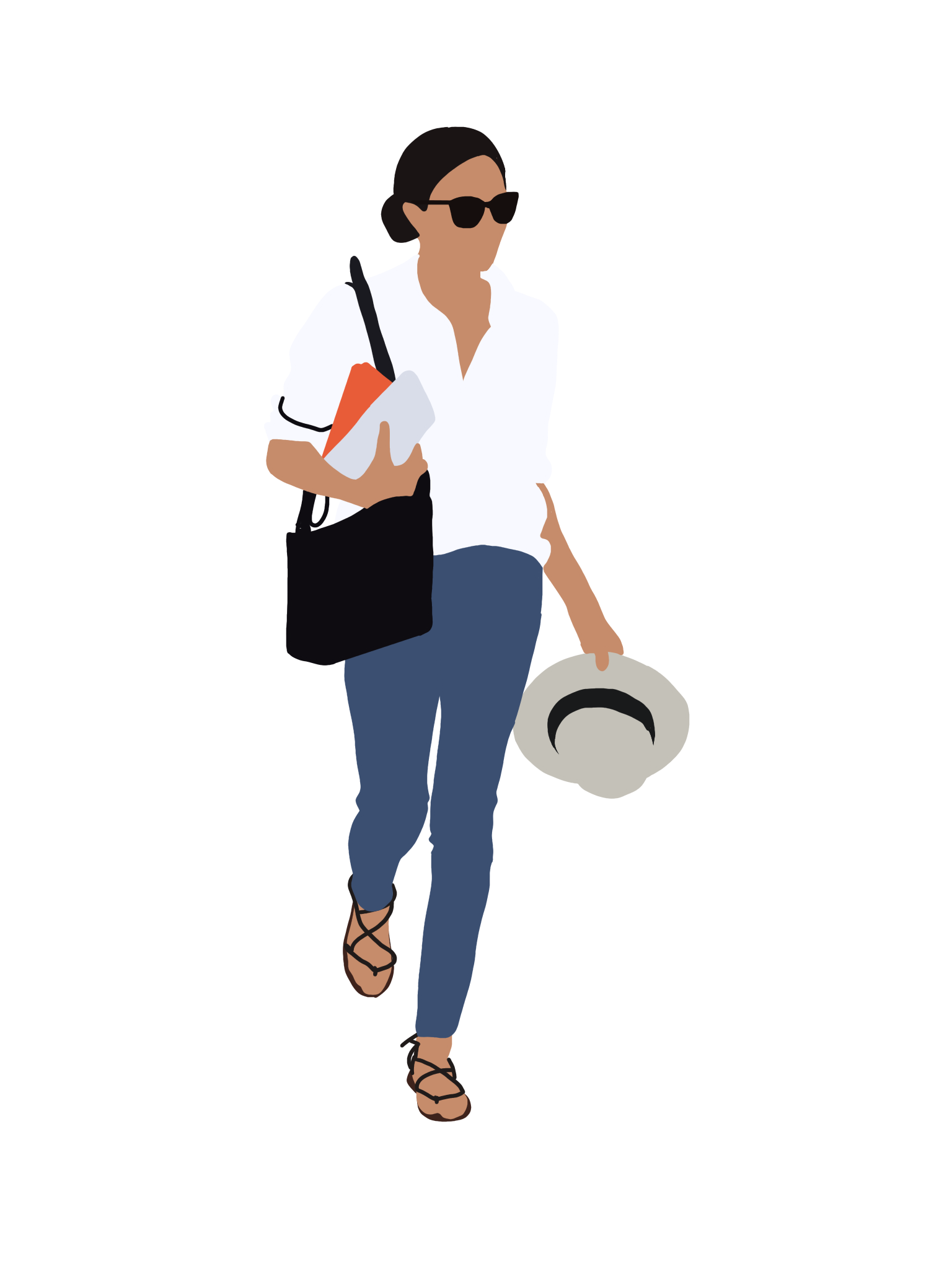 People Flat Illustration on Behance People illustration
