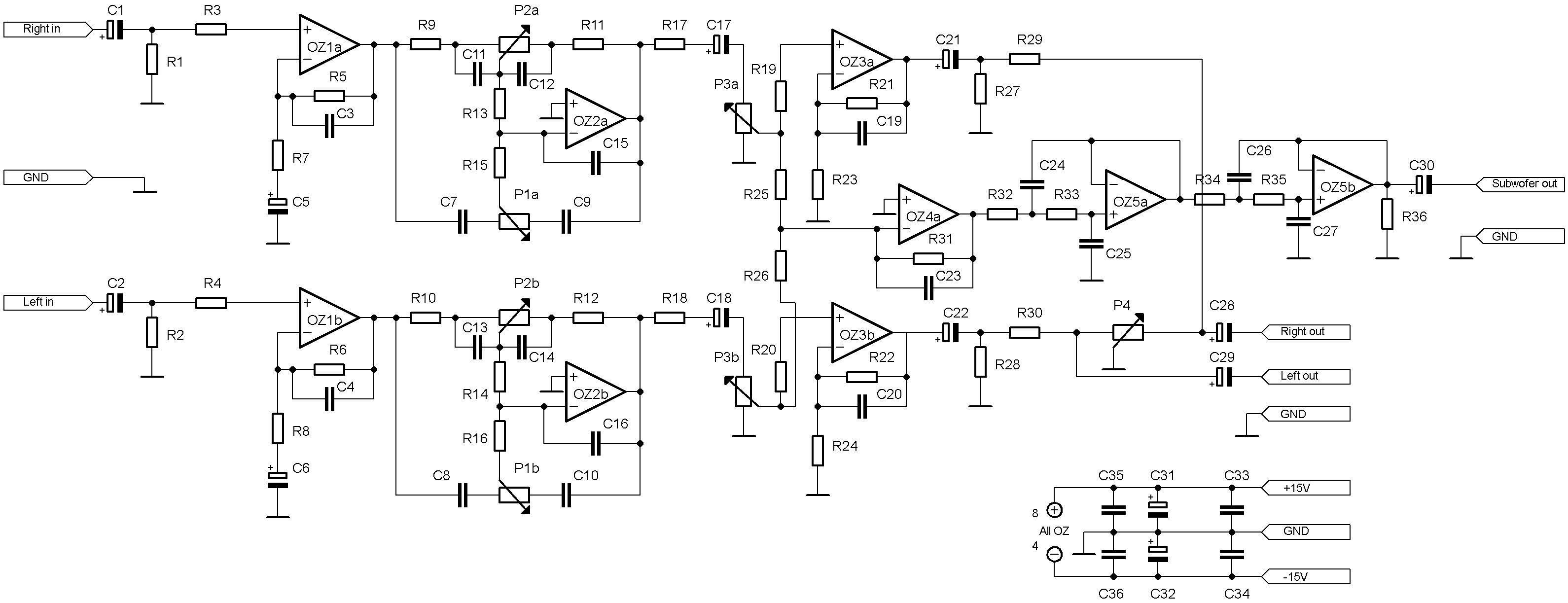 Low Pass Subwoofer Circuit Diagram Inspirational Subwoofer