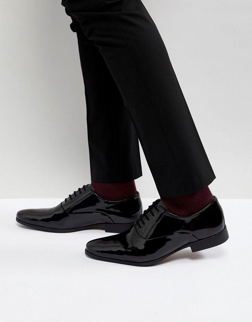 Factory Sale Clearance Sast KG By Kurt Geiger Patent Lace Up Shoes - Black Kurt Geiger Shop For Sale dVzHpeZ