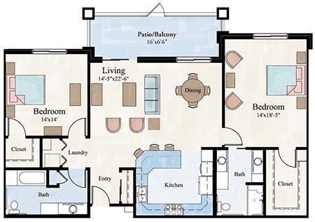 Floor Plan Patio Would Be My Sunroom House Floor Plans House Plans Small House Plans