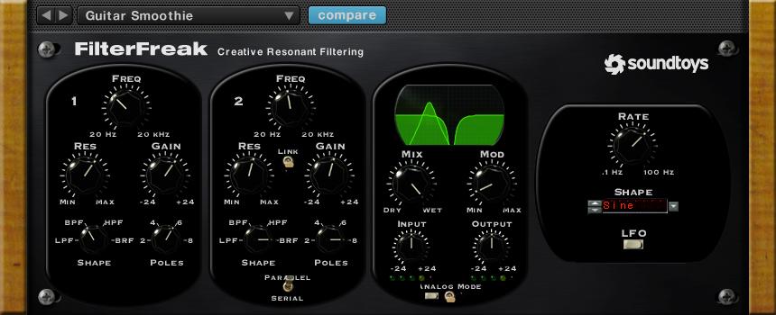 Soundtoys FilterFreak $179