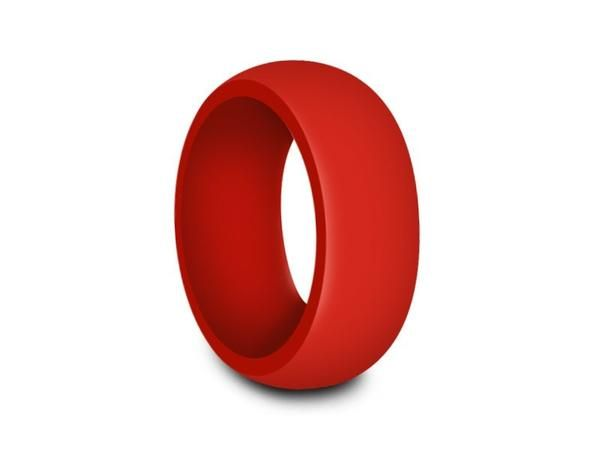 8mm Active Life Style Silicone Wedding Band Active Wedding Ring Silicone Wedding Band Silicone Rings Men
