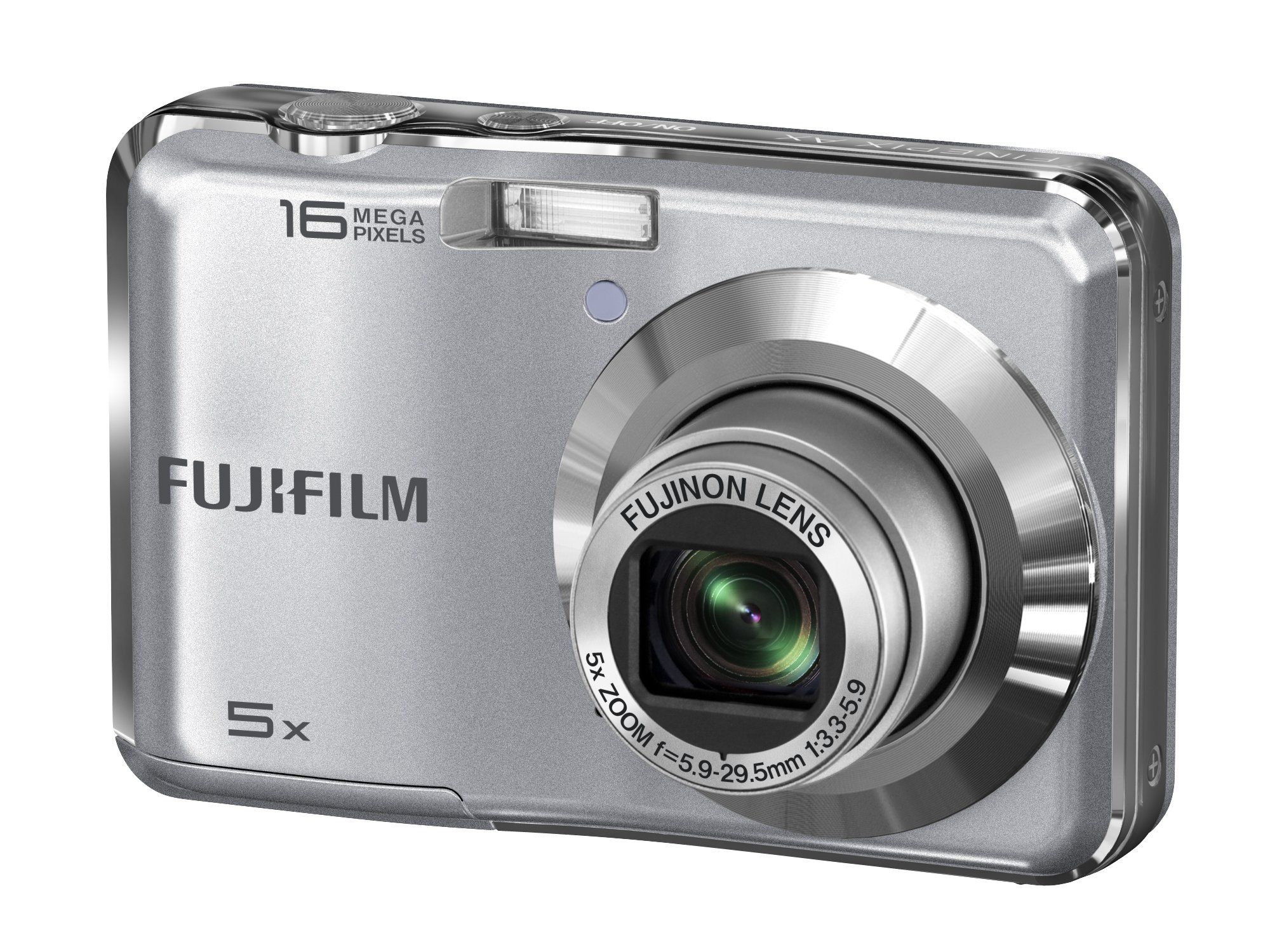 Fujifilm FinePix AX350 Silver Digital Camera. Fujifilm FinePix AX350 Silver Digital Camera.