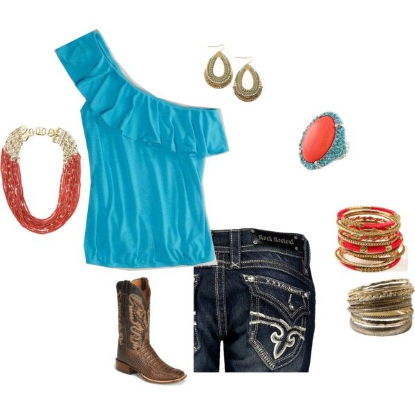 I adore this coral and teal outfit! Perfect for a date to the state fair. Fashion forward yet practical. #ShoeMall