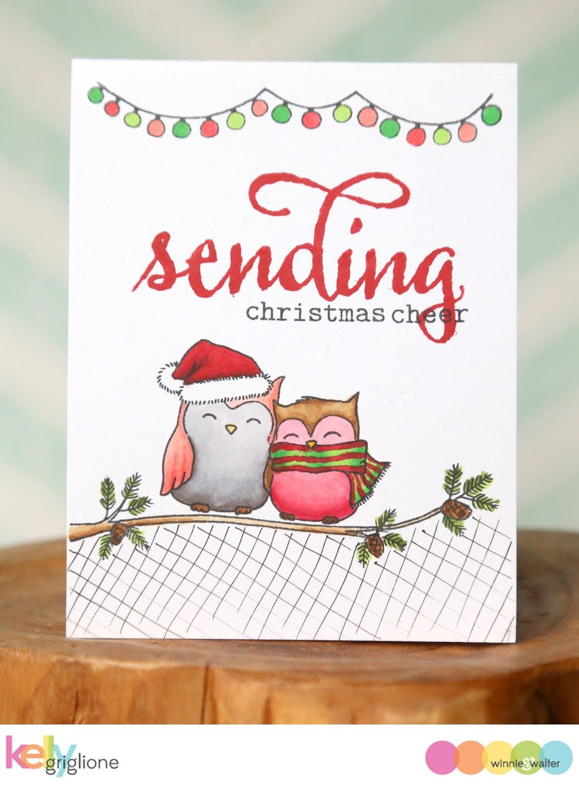 Sweet christmas card happy owlidays with evelin t designs sweet christmas card happy owlidays with evelin t designs kristyandbryce Gallery