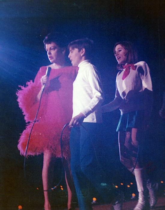 Judy with Joey & Lorna.