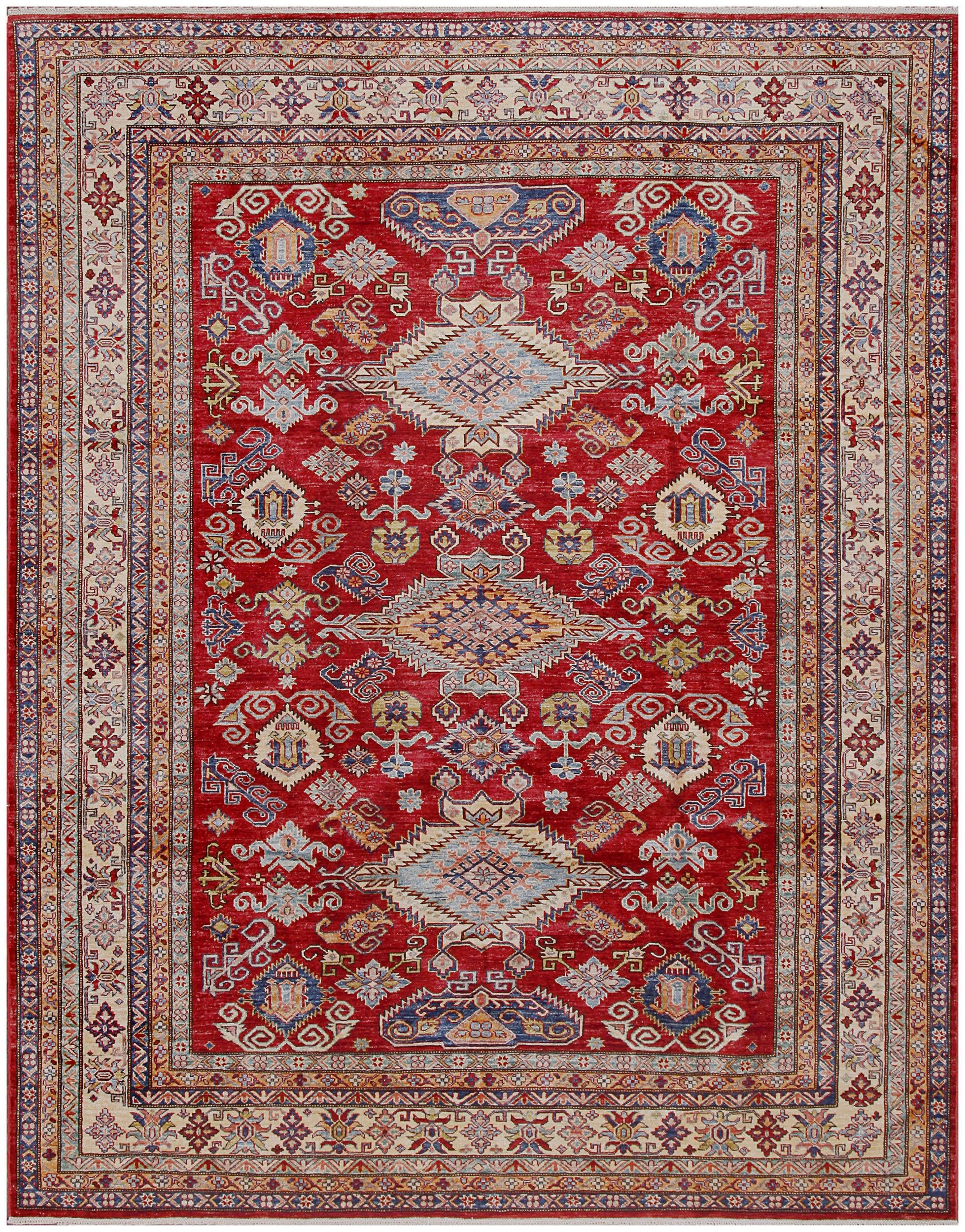 Rugsville Fine Tribal Kazak Red Wool Rug 8 X 10 1 Red Wool Rug Buying Carpet Carpets Online