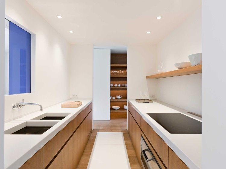 Comment aménager une cuisine en longueur –types, avantages et ...
