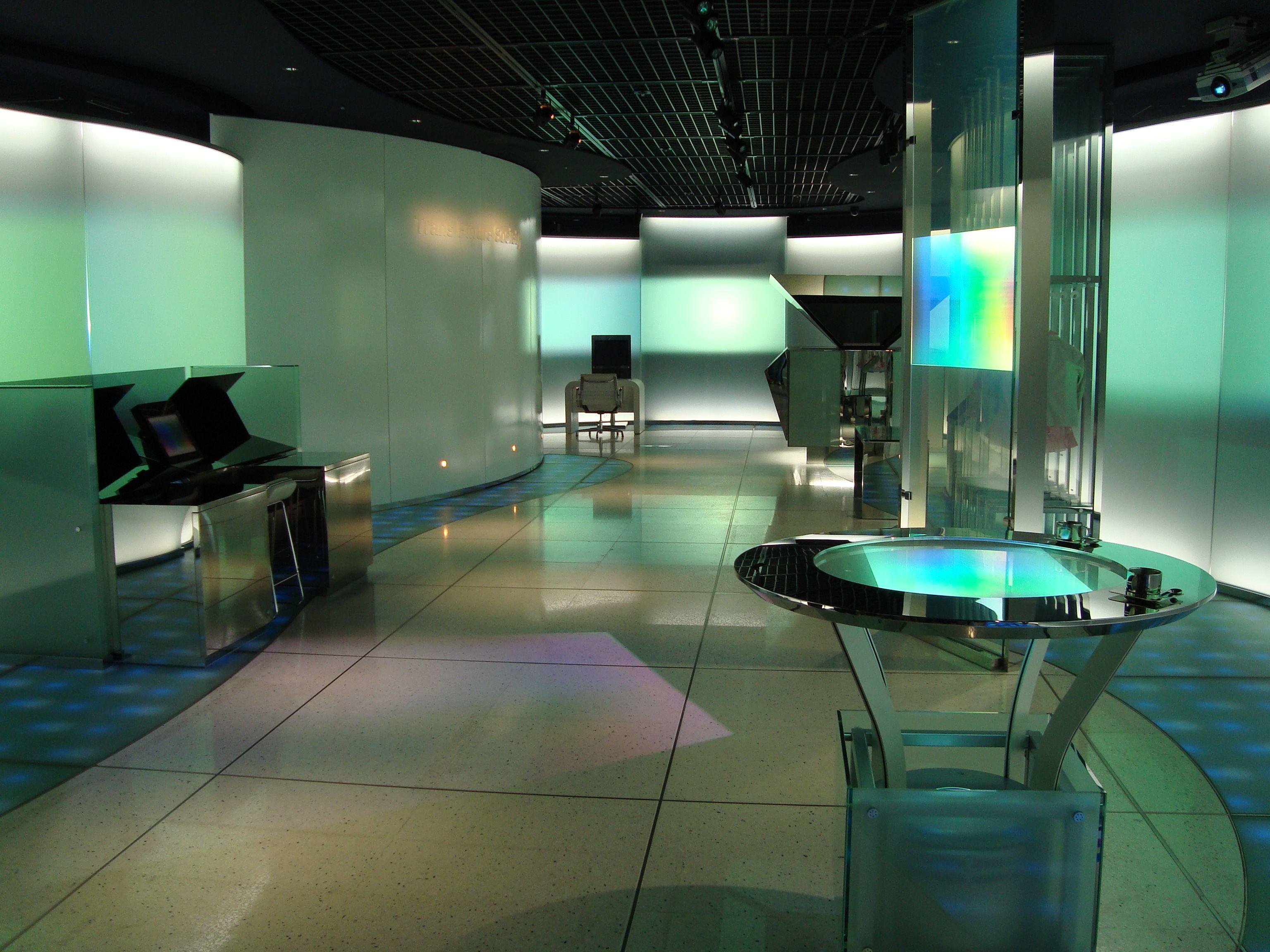 Computer Lab Futristic - Google Nines Furniture Home