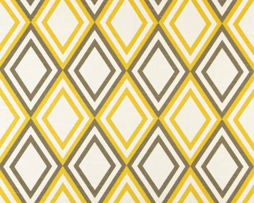 Premier Prints Fabric Annie Corn Yellow Kelp Slub Diamond Print Home Decor Fabric