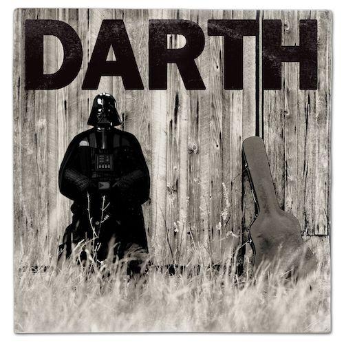 Star Wars Darth Vader Johnny Cash American Recordings Vinyl Album Cover Mash Up Parody Art Print Starwars Thelastjedi Lastjedi Jedi Tshirt