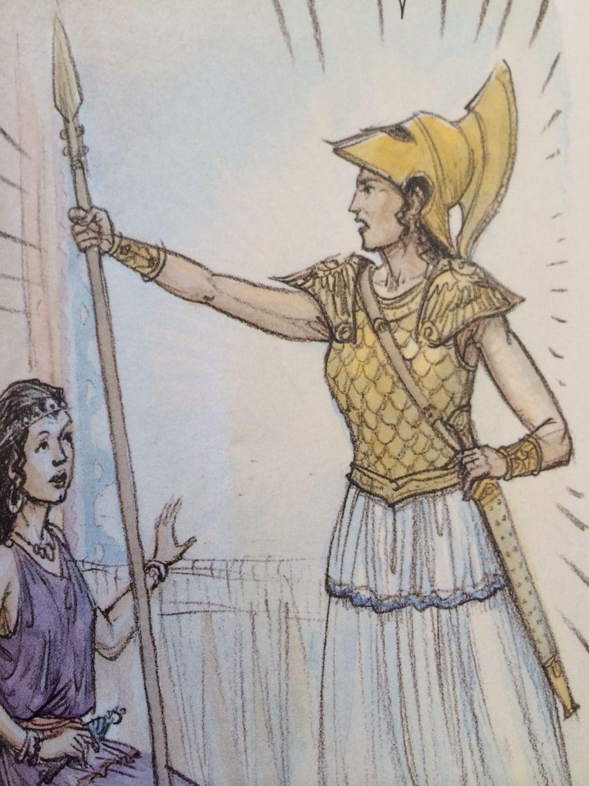 Athena And Arachne Ecole
