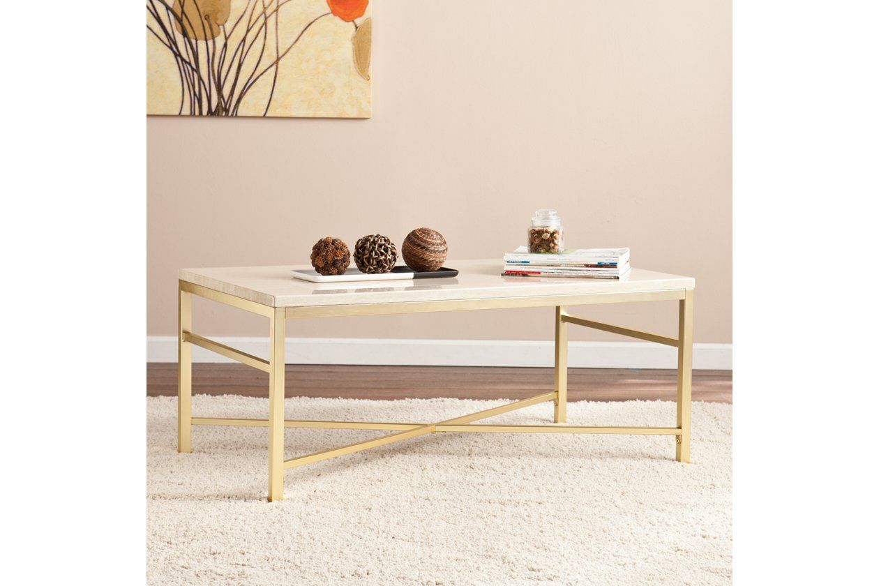 Stone Veneer Coffee Table Ashley Furniture Homestore Stone Coffee Table Coffee Table Acrylic Coffee Table [ 840 x 1260 Pixel ]