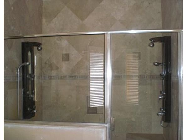 Master Bath Double Walk-In Shower European Shower Fixtures | Shower ...