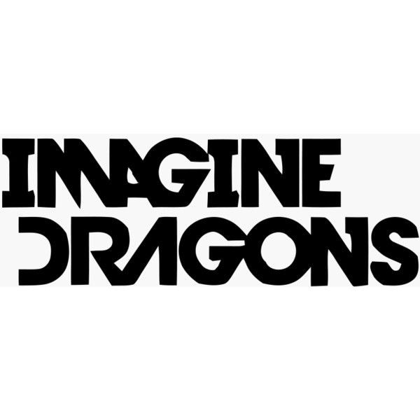 logos for gt imagine dragons logo font liked on polyvore