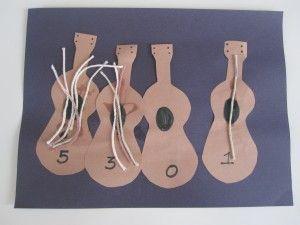las guitarras y los numeros