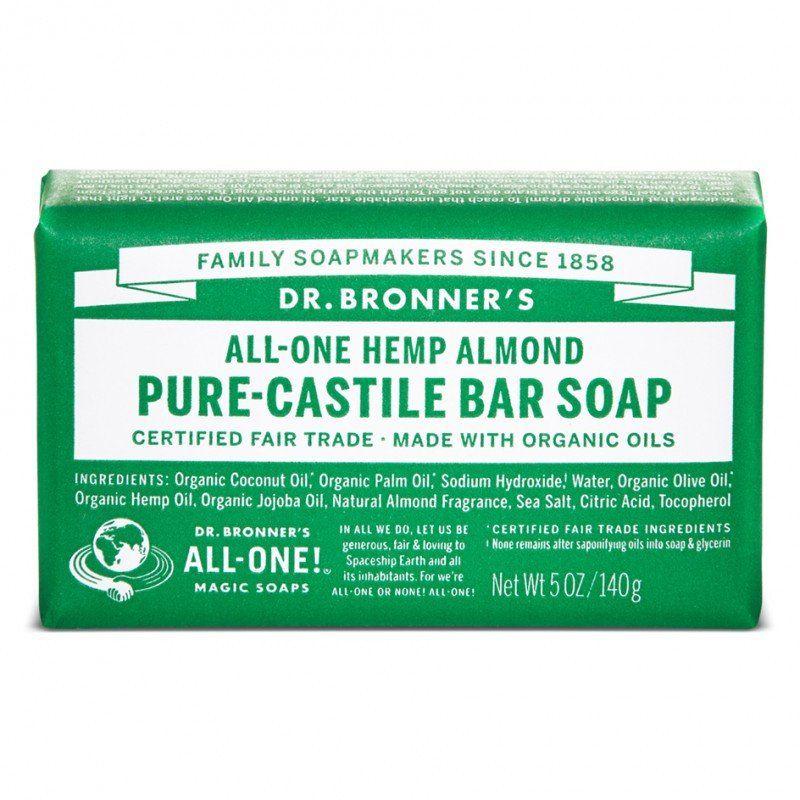 Jabón de Castilla en Pastilla de Almendras - Almond Pure Castille Bar Soap - Oianora