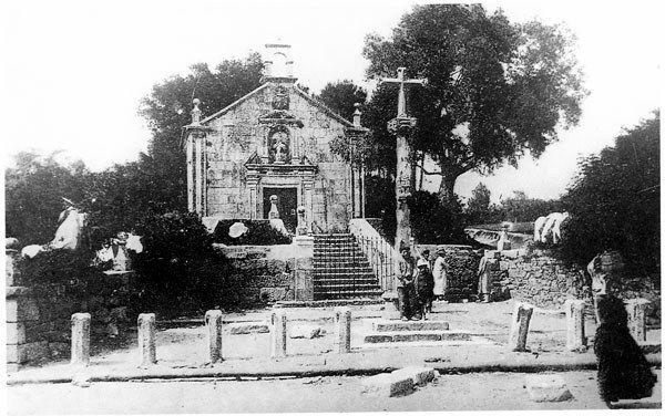 Capela e oliveira de Santa Rita