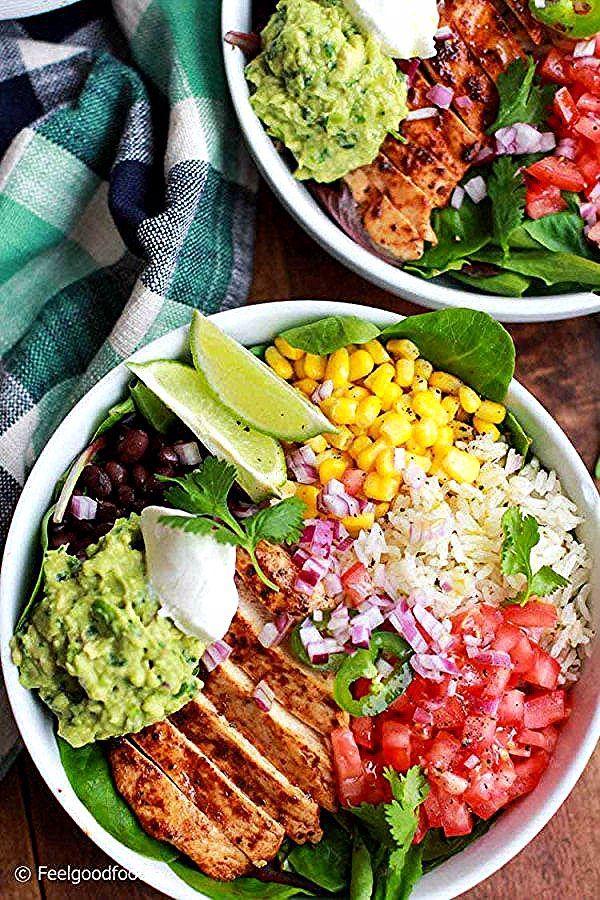 Chicken Burrito Bowl - Recipe - #Bowl #Burrito #CHICKEN #Recipe #recipevideos #recipeseasy #recipesfordinner #recipesfordinnercrockpot #recipesfordinnerfamilies #recipesfordinnerhealthy #recipeswithchicken #recipeswithgroundbeef