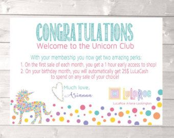 lularoe unicorn club lularoe gift certificate lularoe