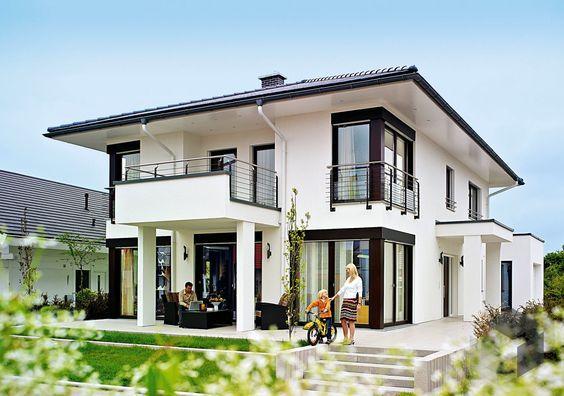 Dieses Und Viele Hauser Mehr Gibt Es Auf Fertighaus De Ihr Hausbau Aus Einer Hand Schnell Preiswert Und Von Gepruften Anbi Weber Haus Architektur Haus Haus