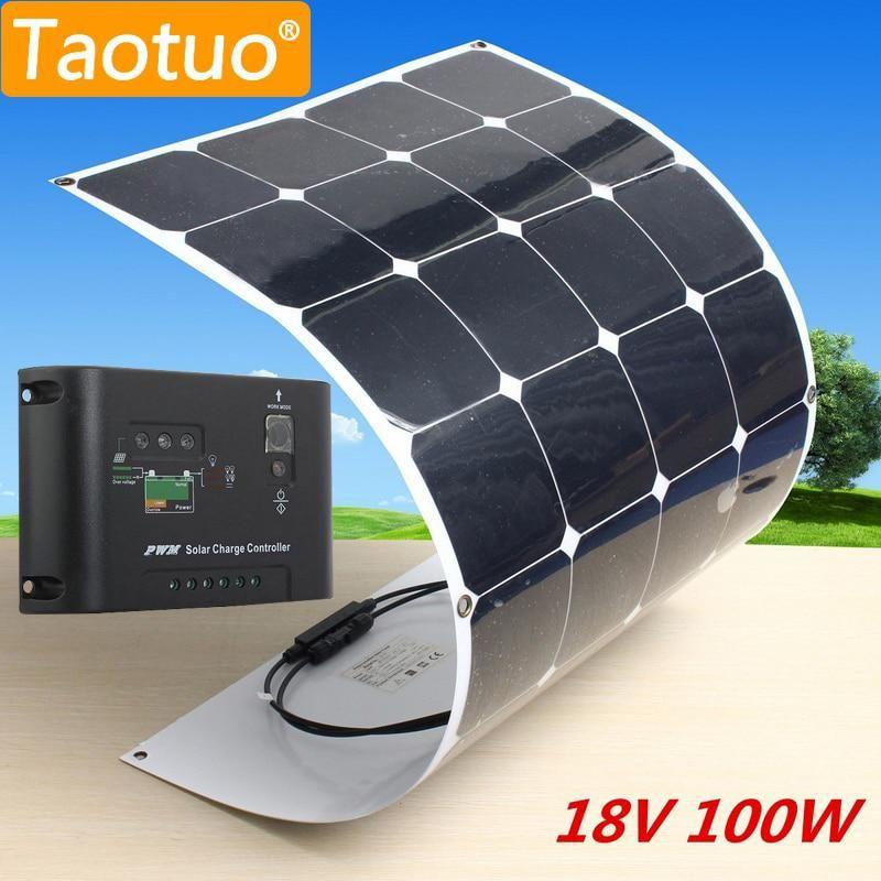 100w 18v Solar Panel Monocrystalline Silicon Solar Board Power Generater 10a Us 145 08 Solar Energy Panels Solar Panels Solar Heating