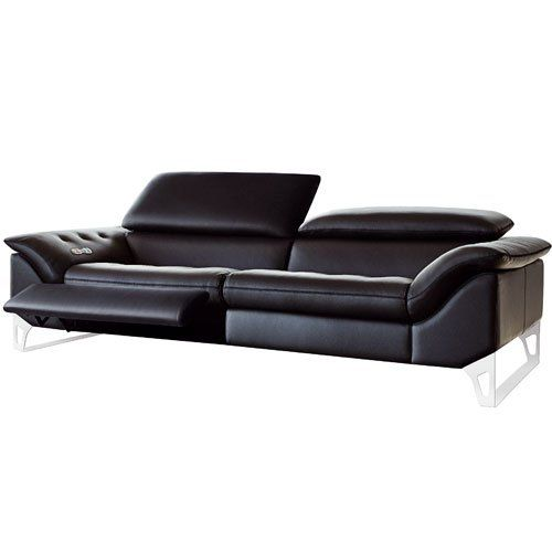 Mur noir devenu vert gris sofa seats sofa furniture and - Roche bobois canape cuir ...