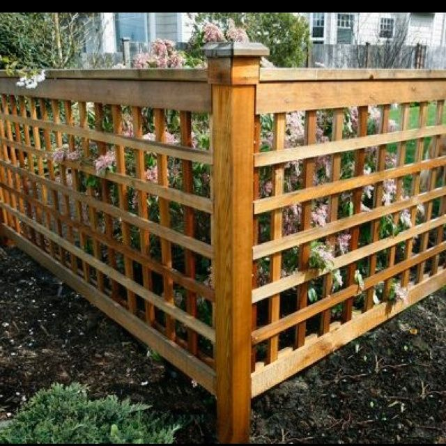Wood Lattice Ideas: Pin By Viggo♠️ On Arbor And Fence Ideas In 2019