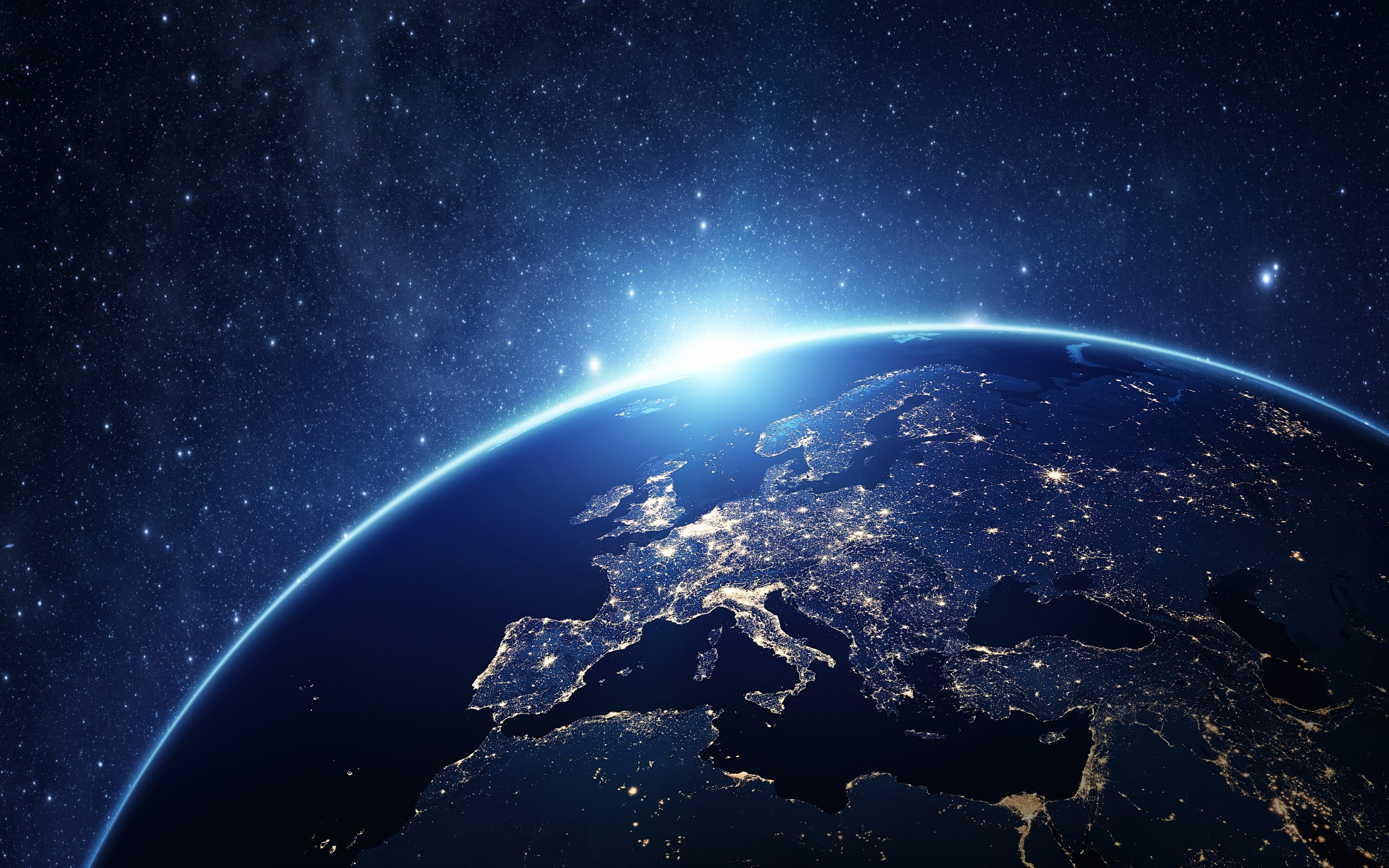 Earth View From Space 4K Wallpaper To See Earth From Space